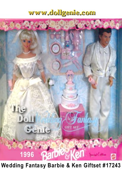 Wedding Fantasy Barbie and Ken Giftset