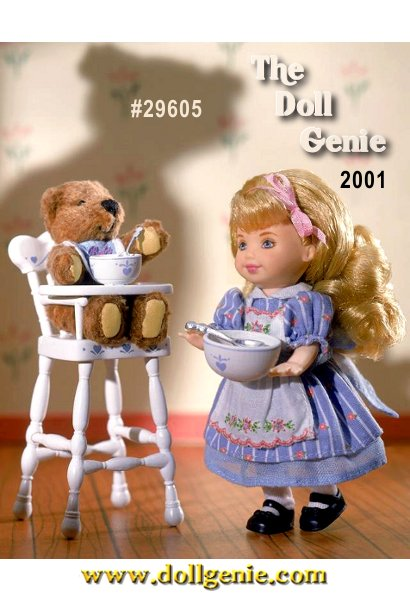 With Goldilocks and her adorable friend baby bear sitting in his high chair, things are just right! Third in the Storybook Favorite series.