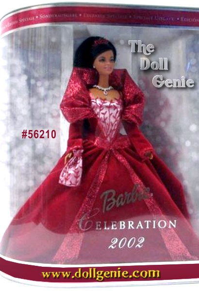A season to shine. To dream, to dazzle, to make wishes come true. African American Holiday Celebration Barbie doll captures all the joy and anticipation of the season. Her gown is a velvety swirl of burgundy. Her jewels are lavishly detailed. Even her eyelashes are unique, rooted for the first time ever in this series. The third and most exquisite of the series, Holiday Celebration Barbie will make this a season to remember.