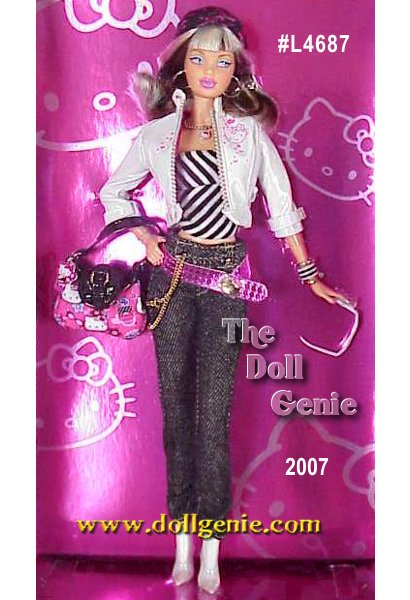 Theres something perpetually trendy about Hello Kitty, the globally renowned icon thats embraced by kids and fashionistas alike. And who better to keep fingers on the fun fashion pulse than Barbie doll? Our favorite style maven add-cute bag, Barbie doll displays the Hello Kitty logo everywhere, with pride. And why not? When fashion and fun collide, its always a fabulous affair.