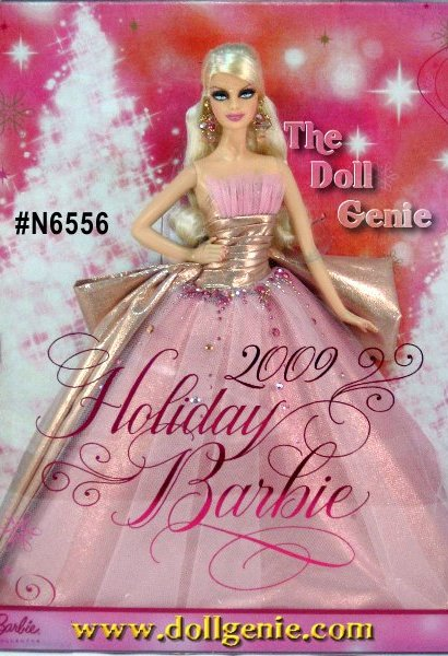 Blonde Version - A vision of holiday perfection! 2009 Holiday Barbie doll glitters as a reflection of an exhilarating year celebrating the 50th anniversary of Barbie doll. Collect her for yourself or the little girl in your life.