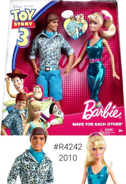 Toy Story 3 Barbie & Ken Made for Each Other Gift Set