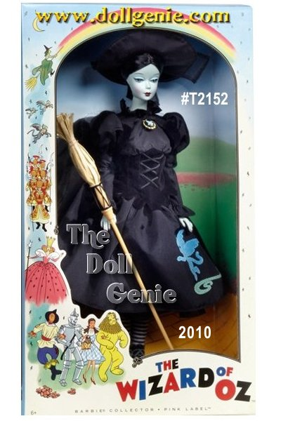 The Wicked Witch of the West captures a very vintage feel with her side glancing eyes and retro-inspired black costume complete with flying monkey detail on dress. Adorable accents include pointy hat, broom, striped stockings, and lace up boots. Designed by Bill Greening