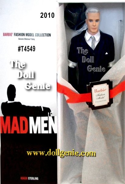 Skilled at using his quick wit to romance clients and the female staff, agency Mad Men CEO Roger Sterling is ready for business in a dapper three-piece suit accented with polka dot tie, pocket handkerchief and hat. Designed by Robert Best