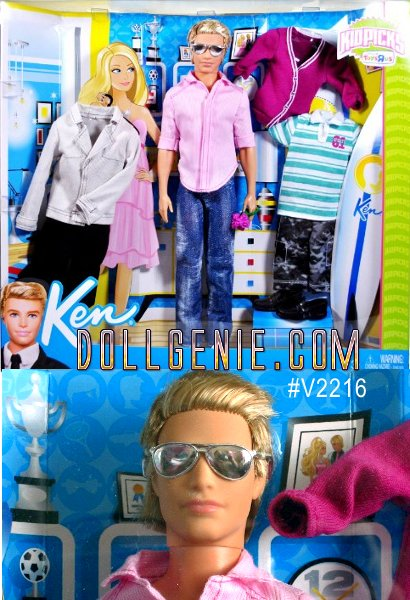 Ken Kidpicks only at ToysRUs Doll is a 2010 Mattel production.rnIncludes: Ken Doll approx. 12