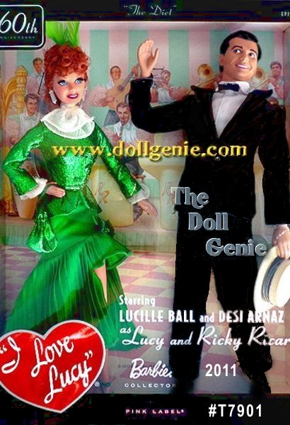 Celebrate the 60th anniversary of the I Love Lucy show and the finale of this doll series with a collectible gift set! The popular episode, The Diet, follows Lucys zany antics as she tries to lose enough weight to fit into a shiny green costume for Rickies nightclub show. The set commemorates 60 years of the timeless television show and concludes this series of the I Love Lucy dolls that began in 1998 and included over 25 dolls .... Everybody loves Lucy! It is time to celebrate the 60th anniversary of the beloved I Love Lucy, show with the popular episode, Cuban Pete, where Lucy and Ricky perform onstage.