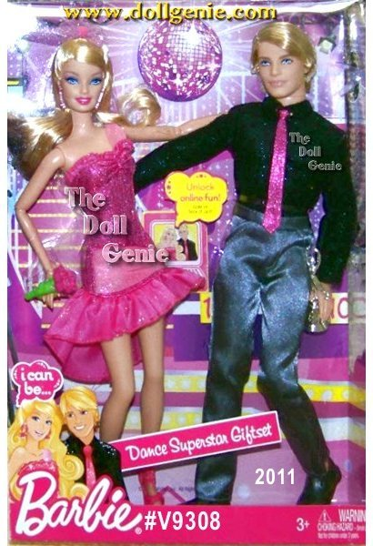 This is such an exciting Giftset where Barbie and Ken are all decked out to dance the night away. Looks like theyre ready to dance the Cha Cha. This is a must have set for all Dancing with the Stars fans!