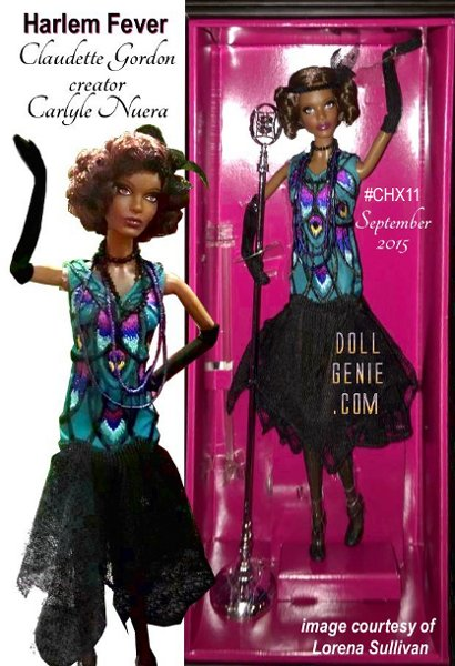 Harlem Fever Series, comes out in September 2015, Claudette Gordon Barbie, creator Carlyle Nuera, new facemold.... more information coming soon!