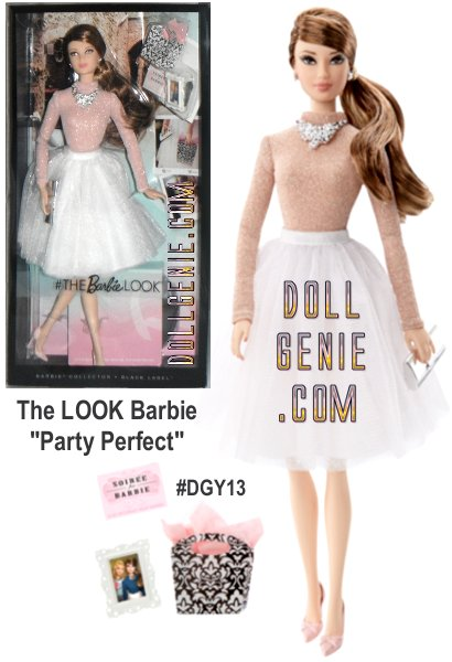 She lives life joyously and always fashionably. She models the perfect look and that unstoppable attitude wherever she goes. Barbie doll's closet is packed with quintessential ensembles, so our photogenic Barbie always flashes unforgettable style and a brilliant smile! She's wearing a Knee-length ballerina skirt with shimmering rose-colored top and comes with a Jewelry set, silvery clutch,  picture frame, gift bag, invitation