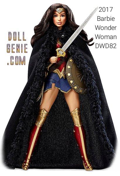 Wonder Woman Barbie Doll, Princess of the Amazons and daughter of Hippolyta. Wonder Woman is one of the world's greatest and most powerful super heroes, a fierce warrior with incredible strength grace and wisdom.