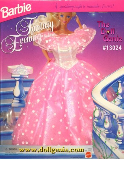 Fantasy Evening Barbie Pink Gown Fashion
