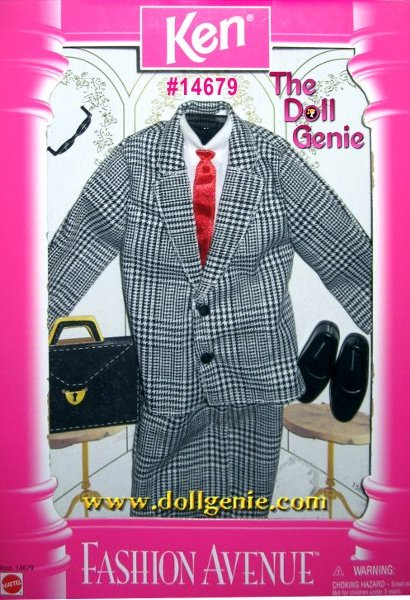 Ken Fashion Avenue Business Suit and Accessories