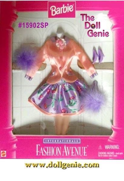 Barbie Fashion Avenue International Collection - Spring Fashion and Accessories Set