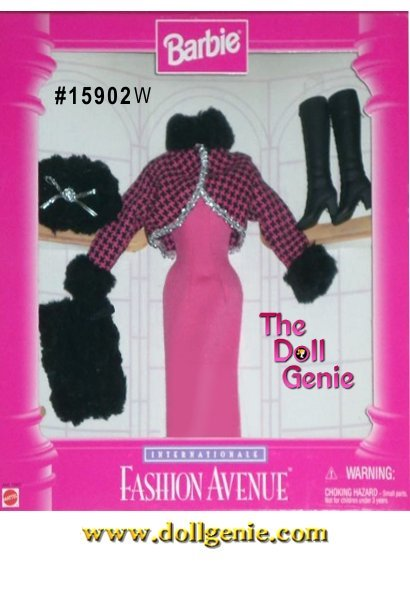 Barbie Fashion Avenue International Collection - Winter Fashion and Accessories Set