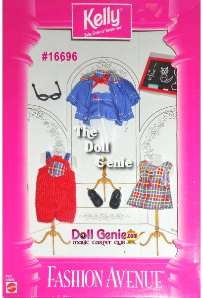 Kelly Fashion Avenue School Clothes and Accessories Set