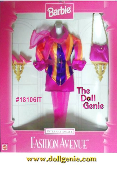 Barbie Fashion Avenue International Collection - Italy Fashion and Accessories Set