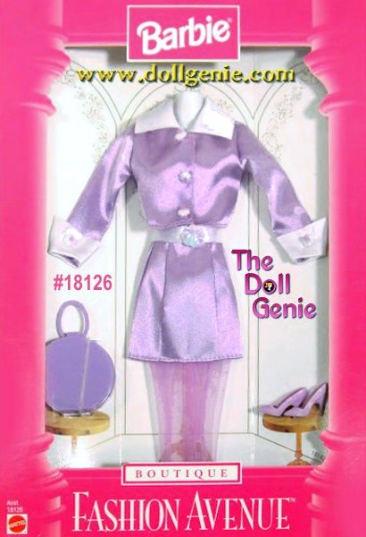 Barbie Fashion Avenue Lavendar Skirt Set Clothing Pack # 18126