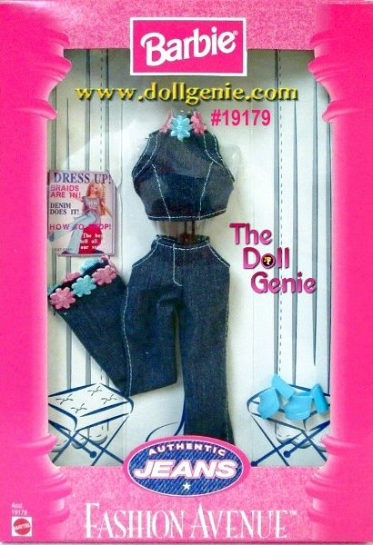 6bbc78f082 Fashion Avenue Barbie Jeans Set