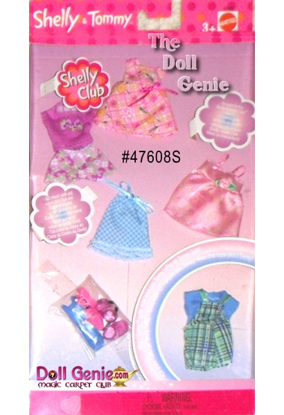Shelly and Tommy School Fashions and Accessory Set