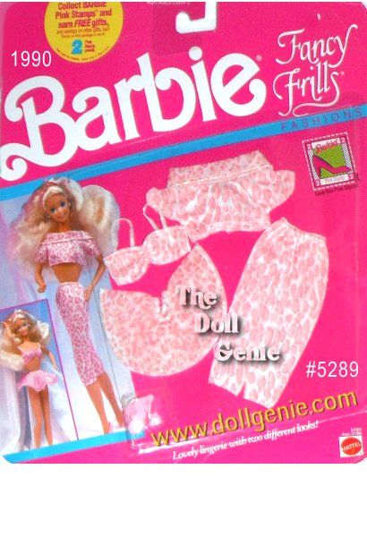Barbie Fancy Frills lingiere fashion set