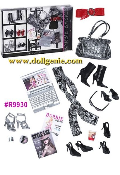 Barbie Basics Accessories  - # R9930