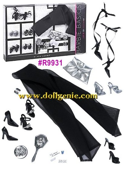 Barbie Basics Accessories  - # R9931