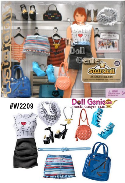 StarDoll Blue Fashion Pack with Accessories