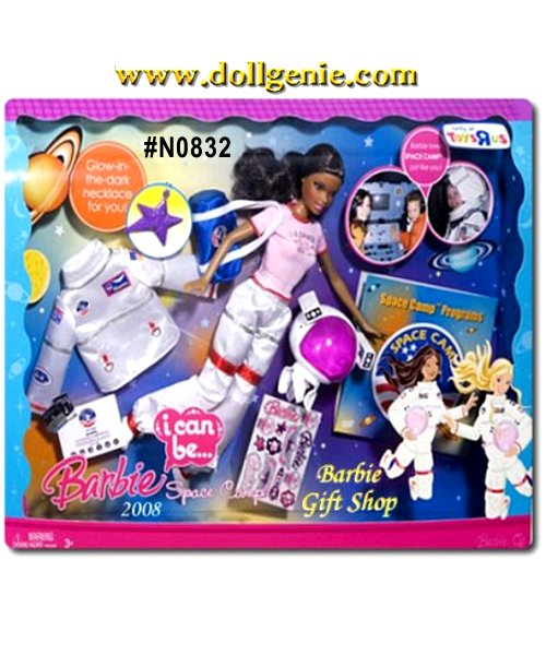 Barbie Doll, Space Gear & Accessories Included