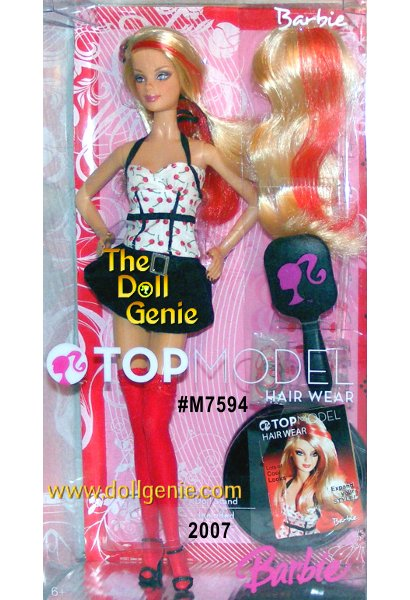 TOP MODEL Barbie + Accessories Giftset